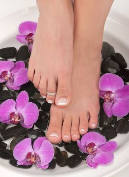 pedicure and manicure
